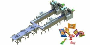 Direct-sort packing line