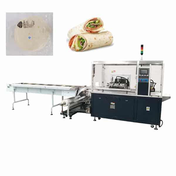 Tortilla-wrapping-machine